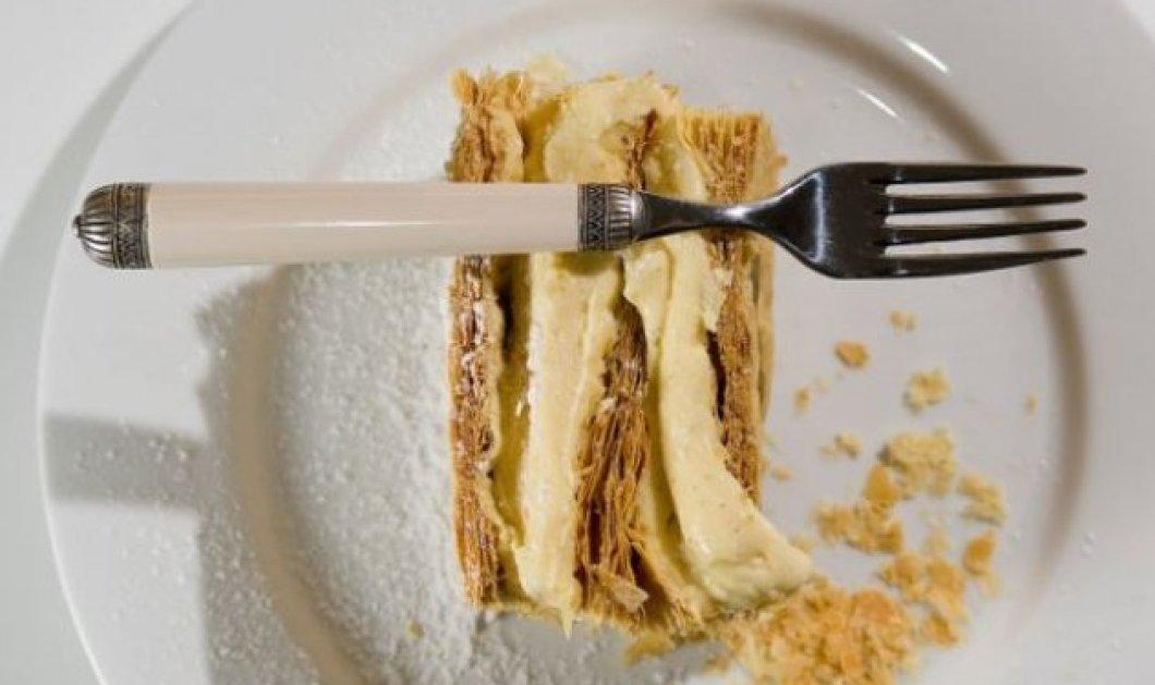 Ο Στέλιος Παρλιάρος φτιάχνει απίστευτο μιλφέιγ - Ένα γλυκό με «χίλια φύλλα» - Κυρίως Φωτογραφία - Gallery - Video