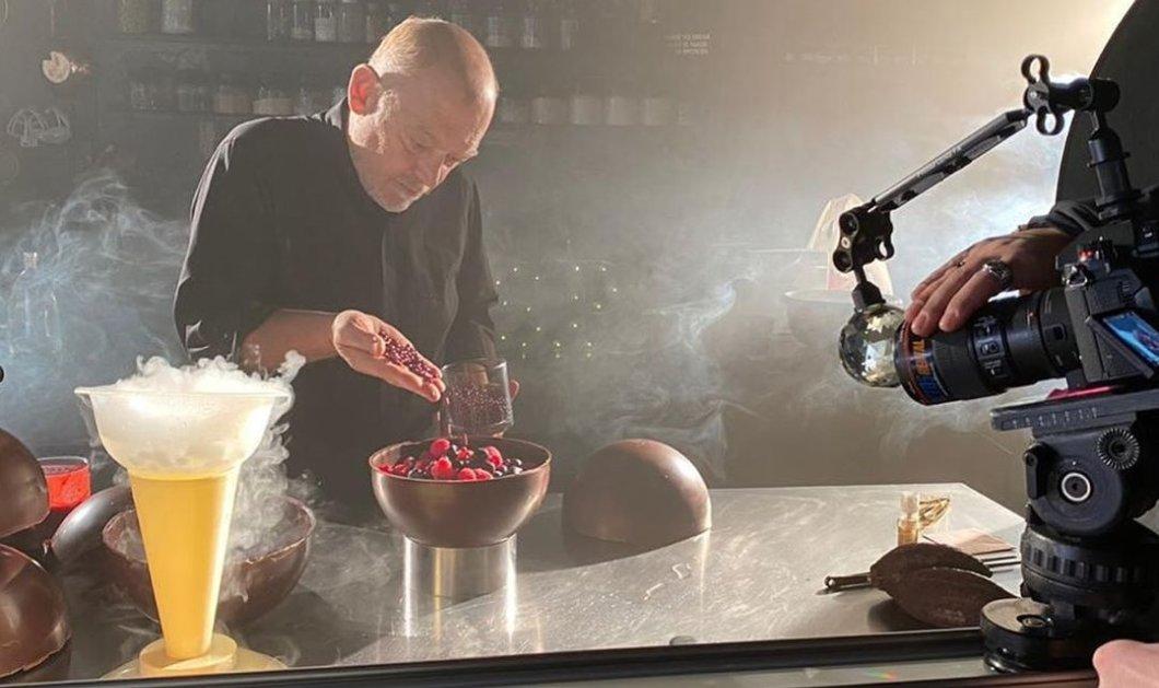 Ο Στέλιος Παρλιάρος δημιουργεί την τούρτα των ονείρων σας: Σοκολάτα μαρκίζ - Κυρίως Φωτογραφία - Gallery - Video