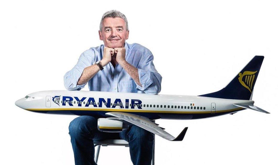 Ιδιοκτήτης Ryanair: Δεν θα πετάξουμε με άδειο το μεσαίο κάθισμα, δεν μας συμφέρει - Ηλίθια ιδέα - Κυρίως Φωτογραφία - Gallery - Video