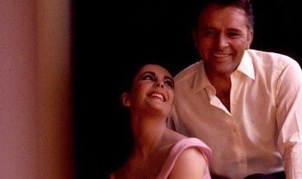 Λιζ Τέιλορ - Ρίτσαρντ Μπάρτον: Το θρυλικό ζευγάρι του Χόλιγουντ που παντρεύτηκε δύο φορές σε σπάνιες φωτό - Κυρίως Φωτογραφία - Gallery - Video