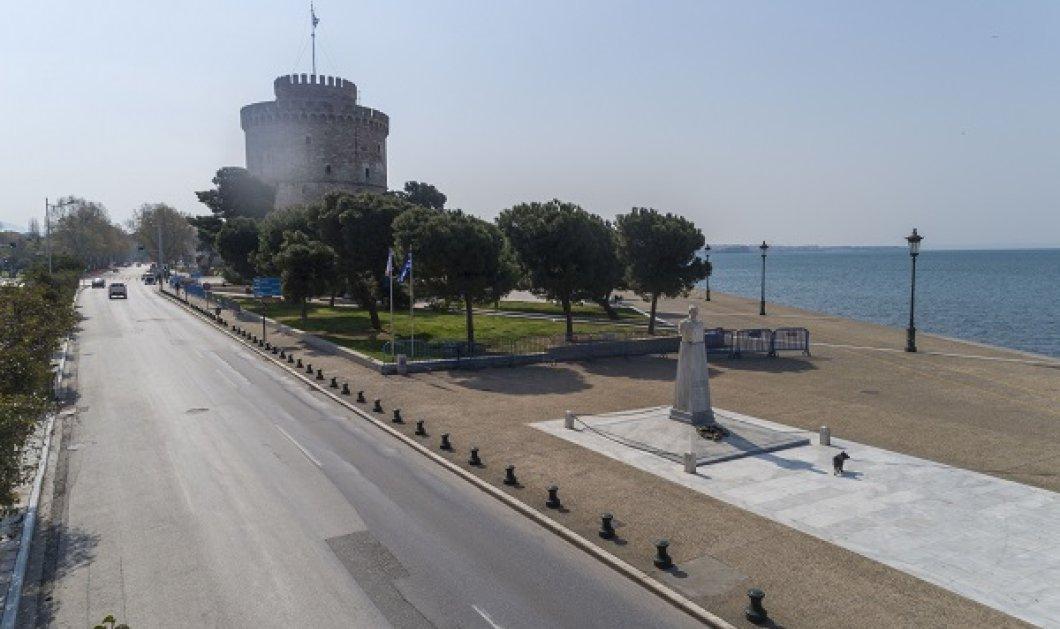 Κορωνοϊός - ταξιτζής στην Θεσσαλονίκη: Σαν ταινία τρόμου η άδεια πόλη, οδηγοί ταξί - «7,5 ώρες χωρίς πελάτη» - Κυρίως Φωτογραφία - Gallery - Video