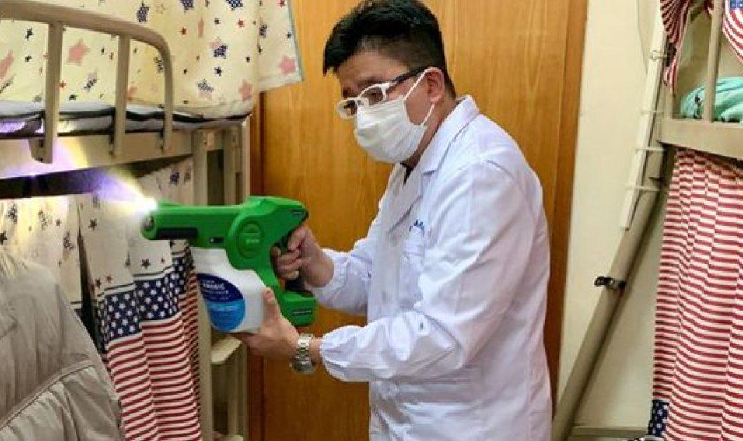 Κορωνοϊός - Χονγκ Κονγκ: Πανεπιστημιακοί παρασκεύασαν σπρέι με το οποίο ψεκάζεσαι & γίνεσαι άτρωτος στα βακτήρια - Κυρίως Φωτογραφία - Gallery - Video