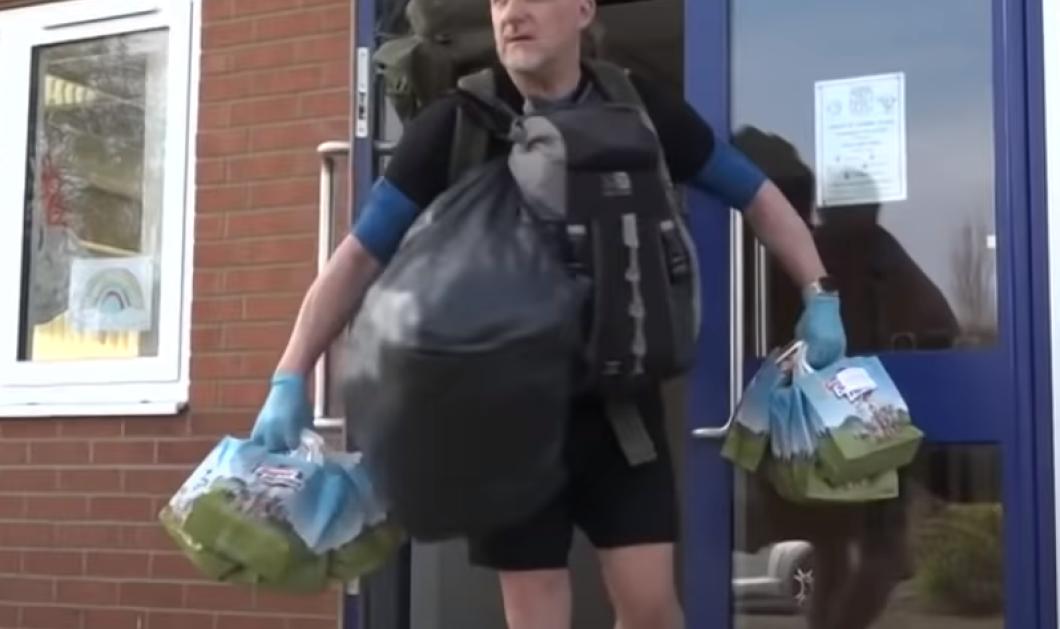 Story of the day o Άγγλος δάσκαλος: Κάθε μέρα περπατάει 8 χιλιόμετρα & παραδίδει πόρτα – πόρτα δωρεάν φαγητό σε όλους τους μαθητές του (βίντεο) - Κυρίως Φωτογραφία - Gallery - Video