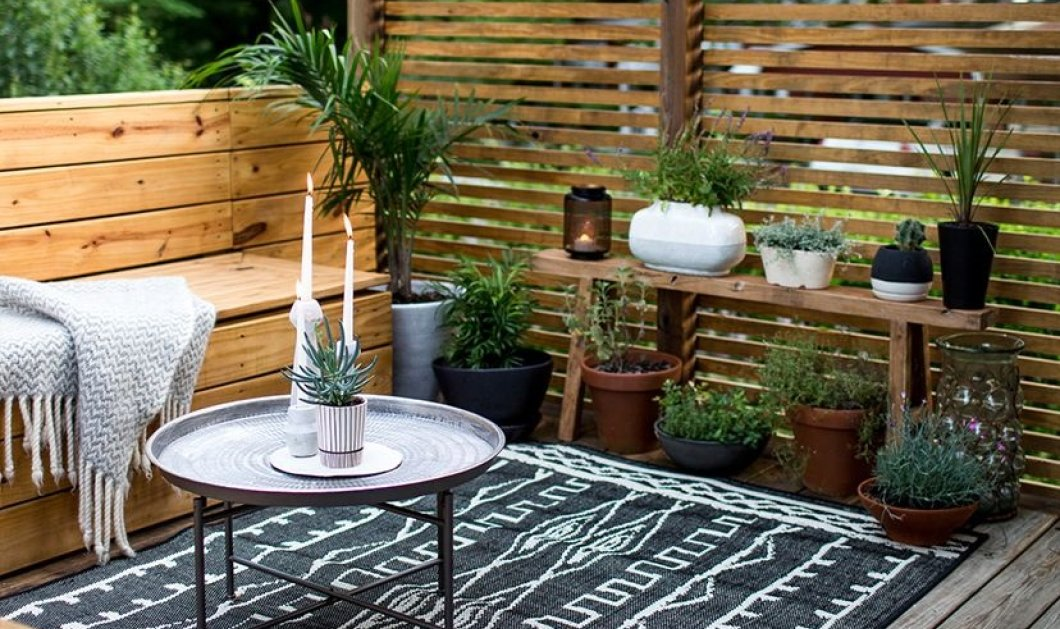 25 προτάσεις διακόσμησης για τα μπαλκόνια, τις βεράντες & τους κήπους σας (φωτό) - Κυρίως Φωτογραφία - Gallery - Video