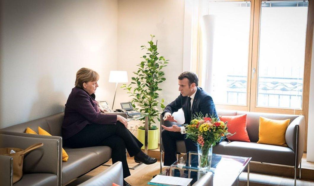 """Κορωνοϊός - Μακρόν, Μέρκελ προτείνουν """"ταμείο ανάκαμψης"""" 50 δισ. ευρώ ως επιχορήγηση, όχι ως δάνειο - Κυρίως Φωτογραφία - Gallery - Video"""