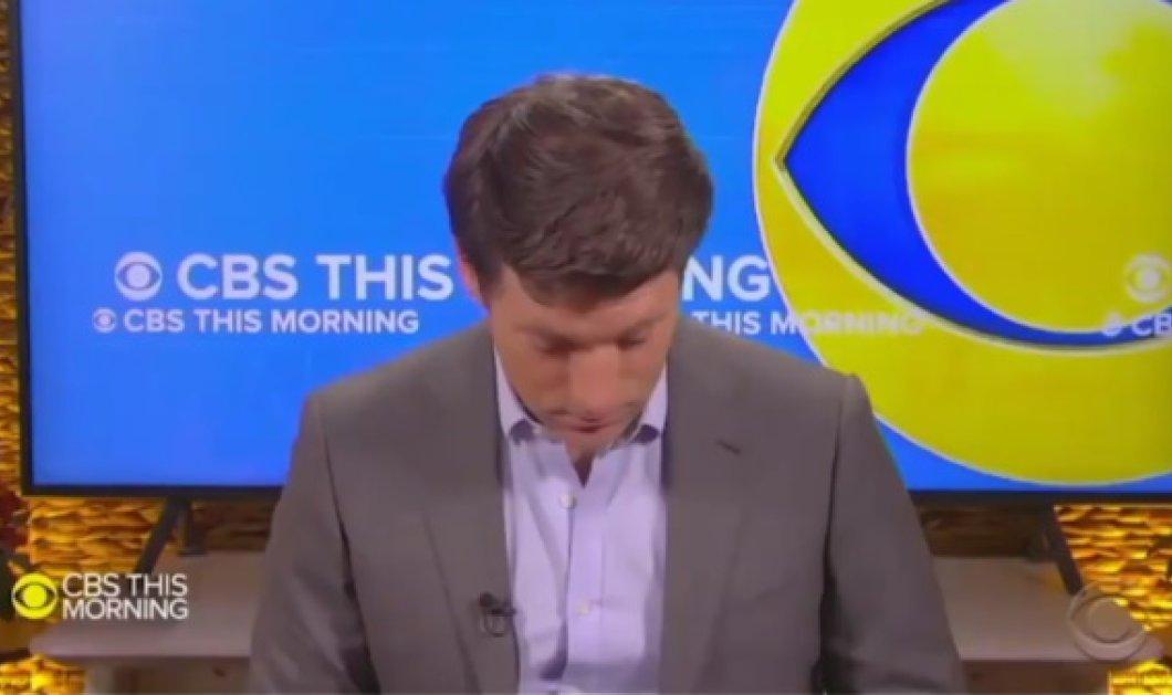 Παρουσιαστής του CBS άρχισε να κοιμάται την ώρα της εκπομπής – Ποιος τον κρατάει ξύπνιο το βράδυ (Βίντεο)  - Κυρίως Φωτογραφία - Gallery - Video