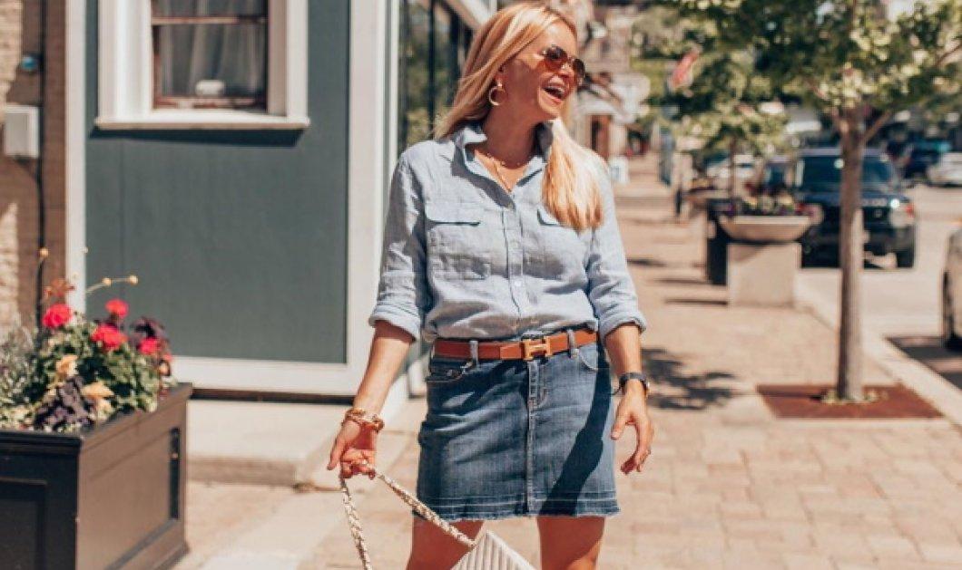 Trendy πρωινοί συνδυασμοί με τζιν φούστα - Fashion tips (Φωτό)  - Κυρίως Φωτογραφία - Gallery - Video