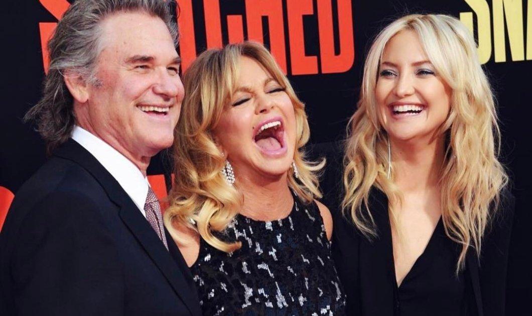#Laughing Challenge: Ποιος γελάει καλύτερα, η Goldie Hawn ή η κόρη της, Kate Hudson, με το μωρό; (βίντεο) - Κυρίως Φωτογραφία - Gallery - Video