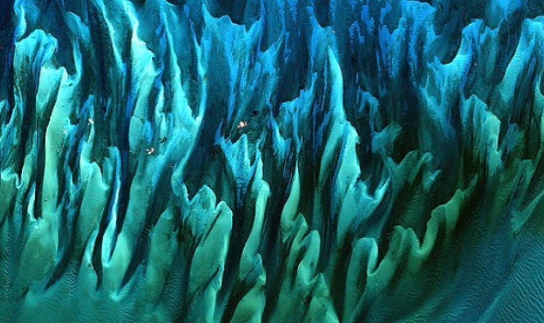 Η φωτογραφία με όνομα «Ocean Sands, Bahamas» νίκησε στον διαγωνισμό Tournament Earth της NASA  - Κυρίως Φωτογραφία - Gallery - Video