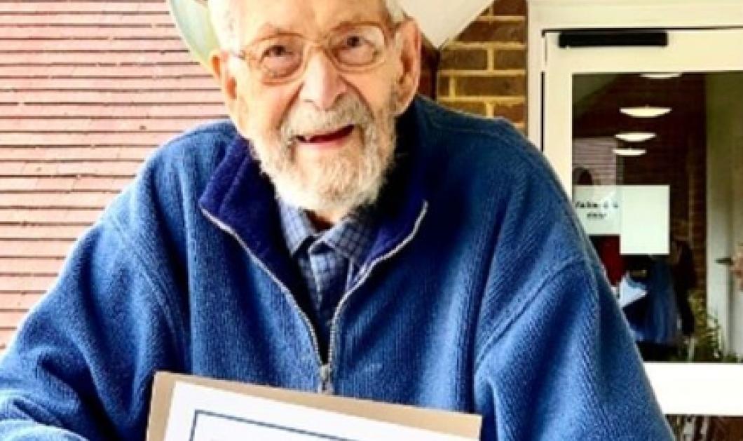 Πέθανε σε ηλικία 112 ετών ο γηραιότερος άνδρας στον πλανήτη – Μπήκε στο ρεκόρ Γκίνες (φωτό) - Κυρίως Φωτογραφία - Gallery - Video
