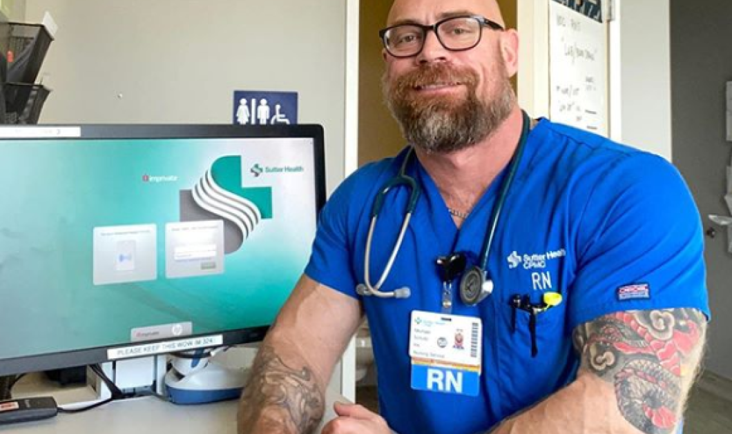 Story of the day: Νοσηλευτής έμεινε στην κυριολεξία μισός μετά από 6 εβδομάδες διασωληνωμένος με κορωνοϊό – Πως ήταν, πώς έγινε (φωτό) - Κυρίως Φωτογραφία - Gallery - Video