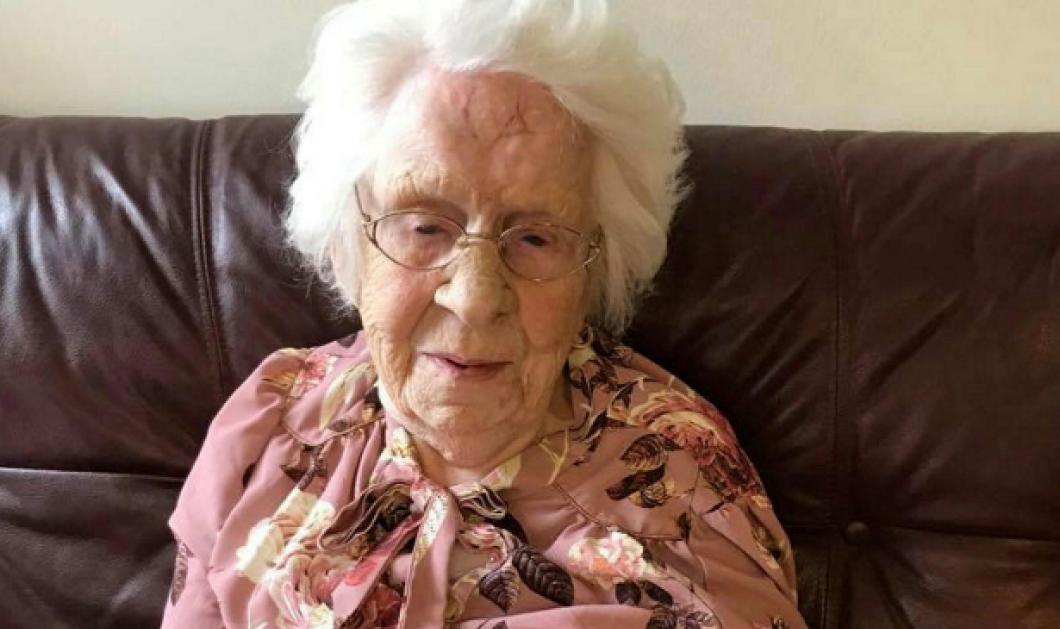 Τopwoman η γιαγιά Xέλγκα, 103 ετών -  Επιβίωσε από κορωνοϊό, ισπανική γρίπη & φυματίωση - Κυρίως Φωτογραφία - Gallery - Video