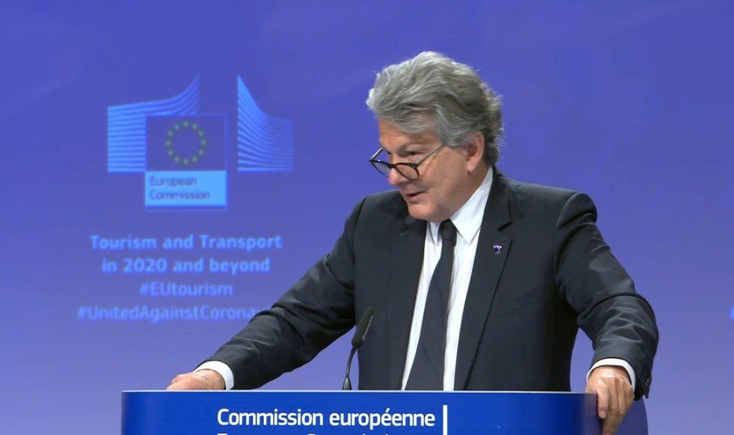 Live από τις Βρυξέλλες η ανακοίνωση του σχεδίου προτάσεων της Κομισιόν για τον τουρισμό - Κυρίως Φωτογραφία - Gallery - Video