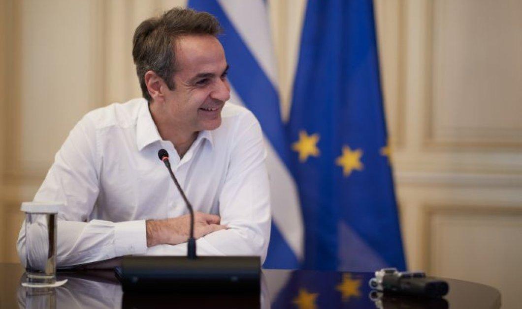 Mε  20,2% μπροστά η ΝΔ από τον ΣΥΡΙΖΑ – 69% θετική εικόνα του Κυρ. Μητσοτάκη δείχνει η δημοσκόπηση της Οpinion Poll - Κυρίως Φωτογραφία - Gallery - Video