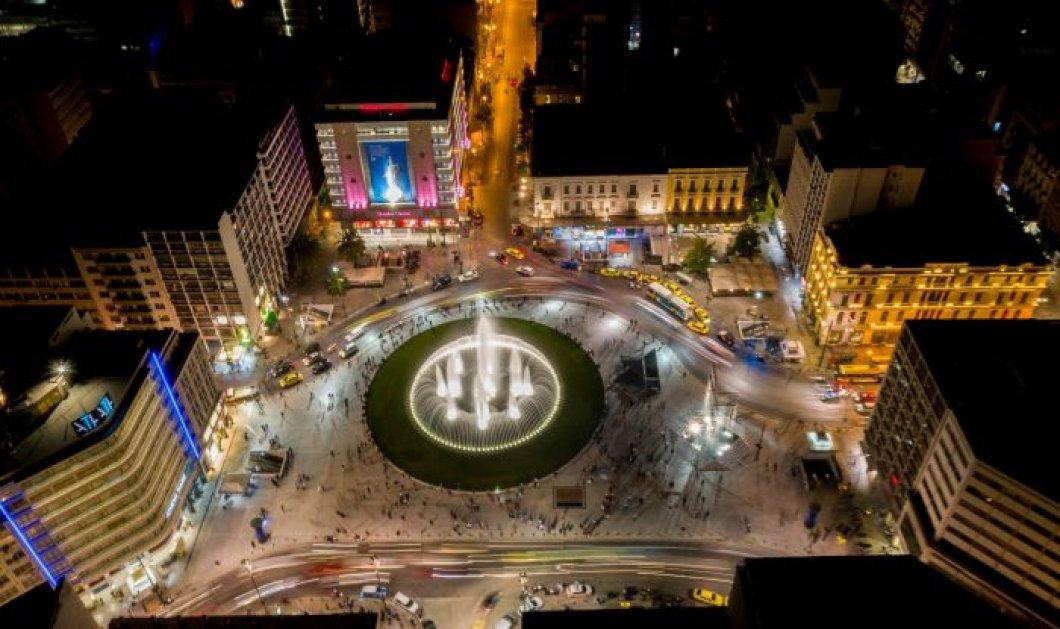 Η πλατεία Ομόνοιας από ψηλά μοιάζει επιτέλους με… ζωγραφιά – Drone, ζευγαράκια & έρωτες στο κέντρο της Αθήνας, καρέ-καρέ (φωτό) - Κυρίως Φωτογραφία - Gallery - Video