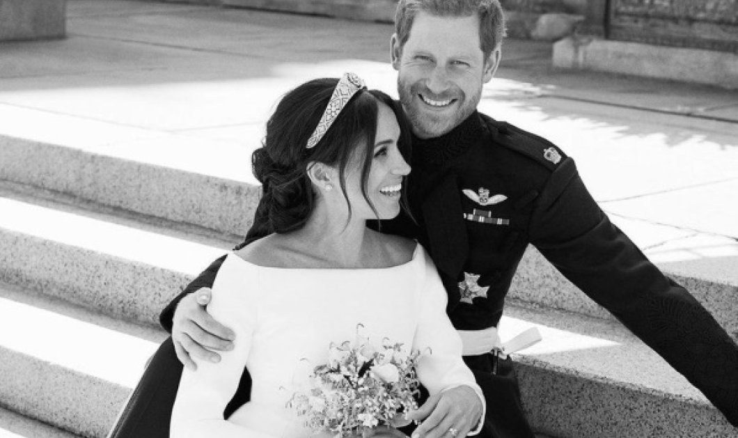 Η Meghan Markle θυμάται τον γάμο της μέσα από υπέροχες φωτό με τον Πρίγκιπα της - Κάποιες αδημοσίευτες - Κυρίως Φωτογραφία - Gallery - Video