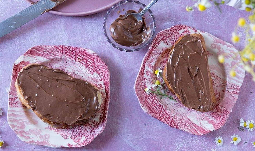 Φτιάξτε το δικό σας άλειμμα σοκολάτας με την μοναδική συνταγή της Ντίνας Νικολάου - Χωρίς ζάχαρη, αλλά με ταχίνι & μέλι - Κυρίως Φωτογραφία - Gallery - Video