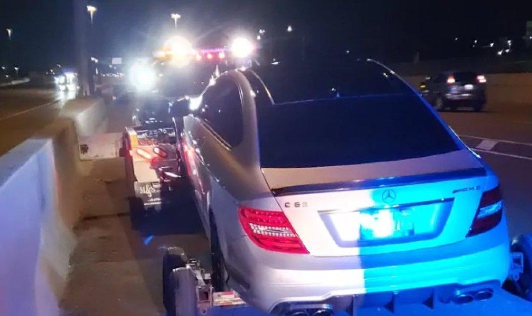 Κακομαθημένος 19χρονος έτρεχε 308 χλμ. με το αυτοκίνητο του μπαμπά & συνομήλικο συνοδηγό - Συνελήφθη, κατέσχεσαν τα πάντα (φωτό- βίντεο)  - Κυρίως Φωτογραφία - Gallery - Video