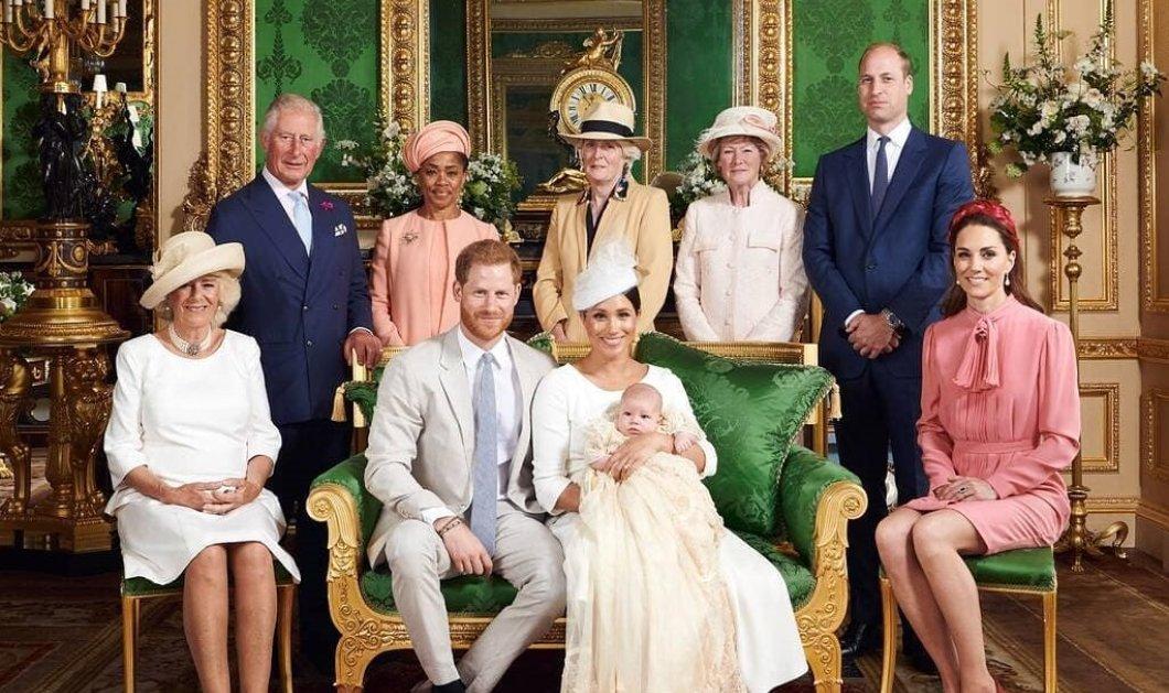 Βασίλισσα, παππούς Κάρολος, γιαγιά Καμίλα & το πριγκιπικό ζεύγος William & Kate κατέκλυσαν με ευχές τον μικρό Archie (φωτό) - Κυρίως Φωτογραφία - Gallery - Video