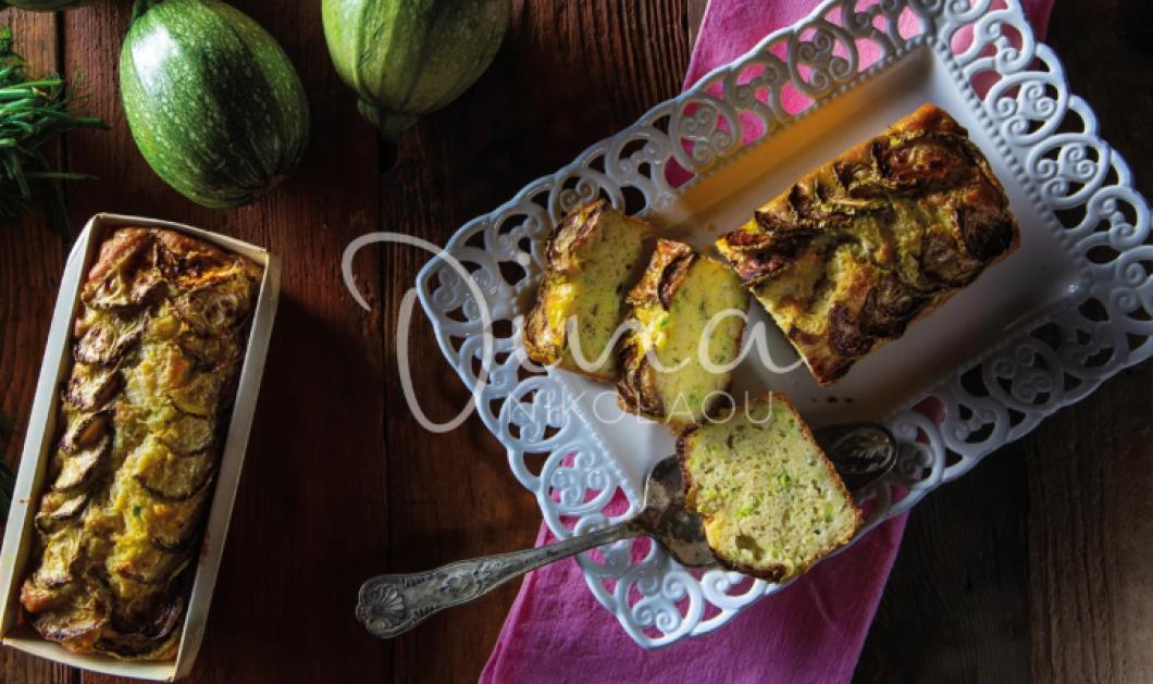 Ένα πανάλαφρο κέικ με κολυκαθάκια, τυριά και μυρωδικά μας φτιάχνει η Ντίνα Νικολάου  - Κυρίως Φωτογραφία - Gallery - Video