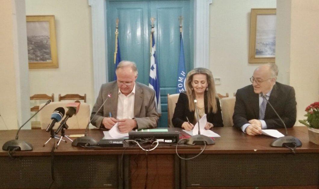 Το Ίδρυμα Μείζονος Ελληνισμού υπογράφει μνημόνιο συνεργασίας με τον Δήμο Σπάρτης για τη δημιουργία Ψηφιακού Μουσείου Ιστορίας Αρχαίας Σπάρτης & τη διοργάνωση κοινών πολιτιστικών δράσεων - Κυρίως Φωτογραφία - Gallery - Video