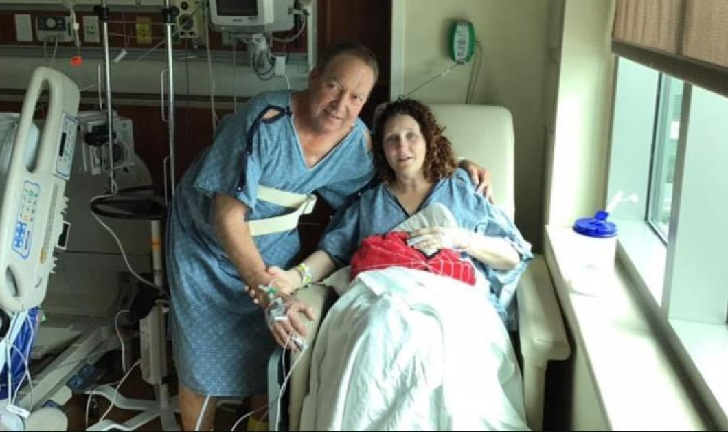 Story of the day: Ζευγάρι έσωσε δύο φορές την ζωή του ίδιου ανθρώπου - Πρώτα με τον θάνατό του ο ένας, τώρα με το νεφρό της η χήρα του (βίντεο)   - Κυρίως Φωτογραφία - Gallery - Video