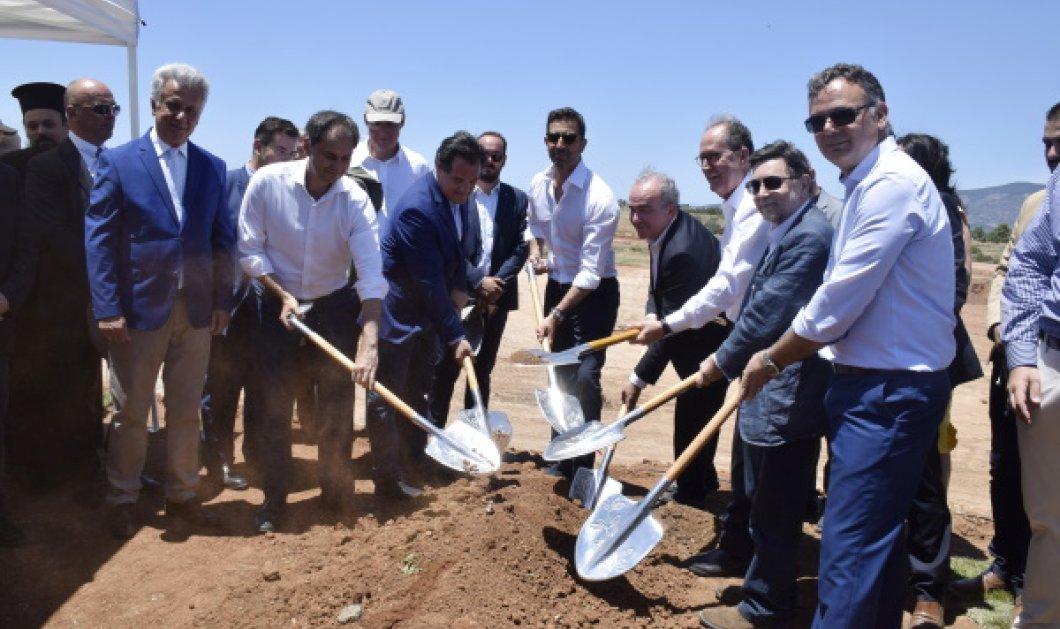 Α. Γεωργιάδης, Χ. Θεοχάρης & Μ. Καμπουρίδης «πήραν τα φτυάρια» & εγκαινίασαν το Κillada Hills (Φωτό)  - Κυρίως Φωτογραφία - Gallery - Video