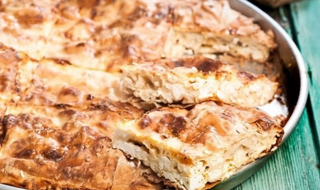Ανεπανάληπτη τυρόπιτα με τραγανή κρούστα & γέμιση σαν σουφλέ από την Αργυρώ Μπαρμπαρίγου - Κυρίως Φωτογραφία - Gallery - Video