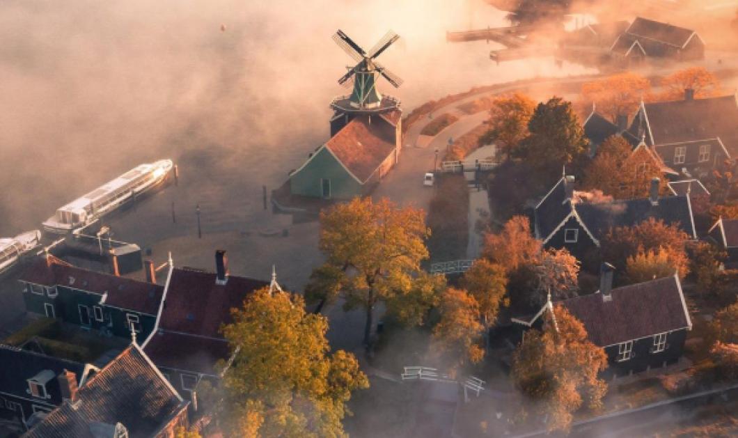 Οι καλύτερες αεροφωτογραφίες του 2020 στον διαγωνισμού Agora: Νικητής ο Ολλανδός με τους διάσημους ανεμόμυλους - Κυρίως Φωτογραφία - Gallery - Video