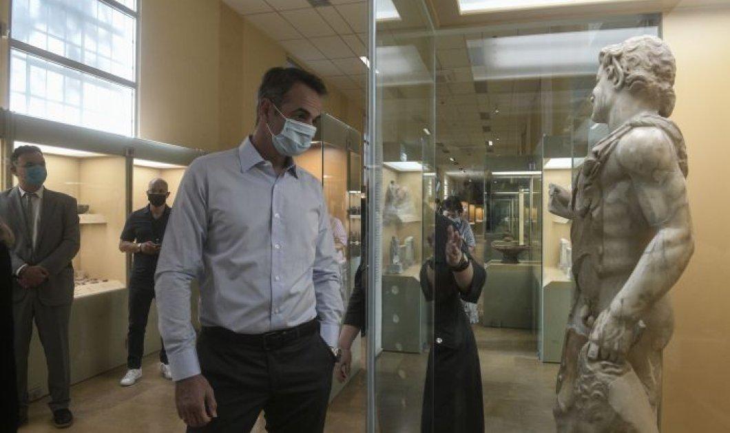 Κυρ. Μητσοτάκης στην Αρχαία Αγορά: Δεν νοείται Ελλάδα χωρίς ανοιχτούς αρχαιολογικούς χώρους (φωτό & βίντεο) - Κυρίως Φωτογραφία - Gallery - Video