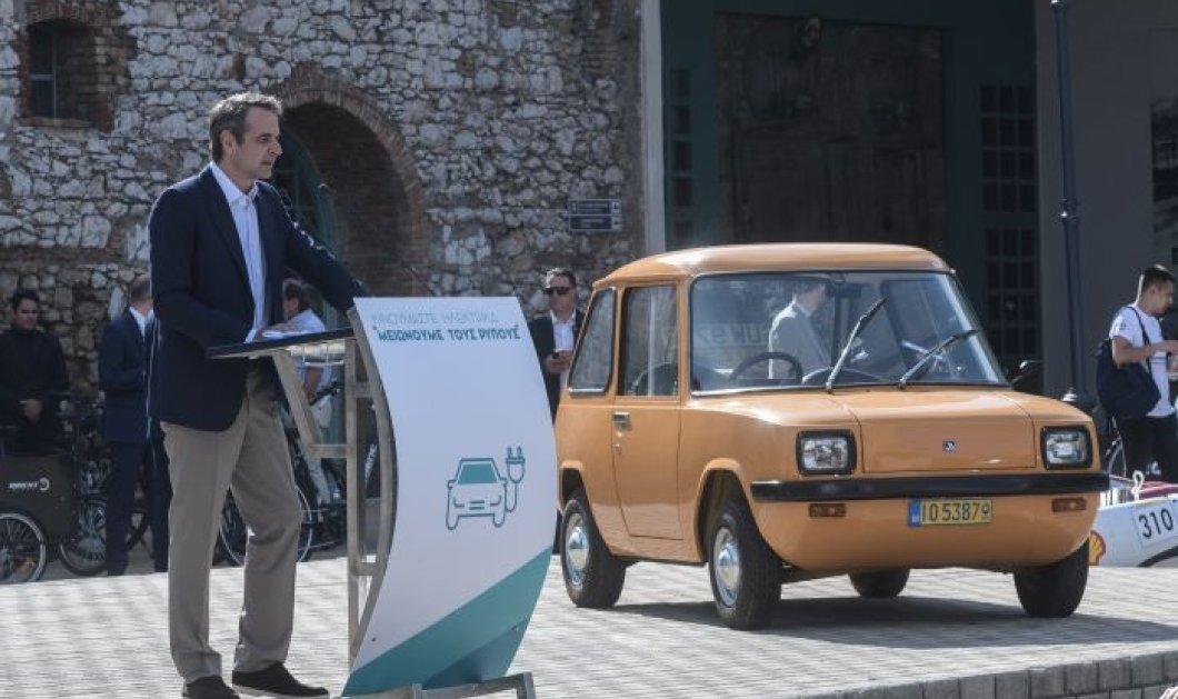 Κυρ.Μητσοτάκης: 100 εκατ. ευρώ στην αγορά  αυτοκινήτων νέου τύπου - 1 στα 3 ηλεκτροκίνητο ως το 2030 (φωτό) - Κυρίως Φωτογραφία - Gallery - Video