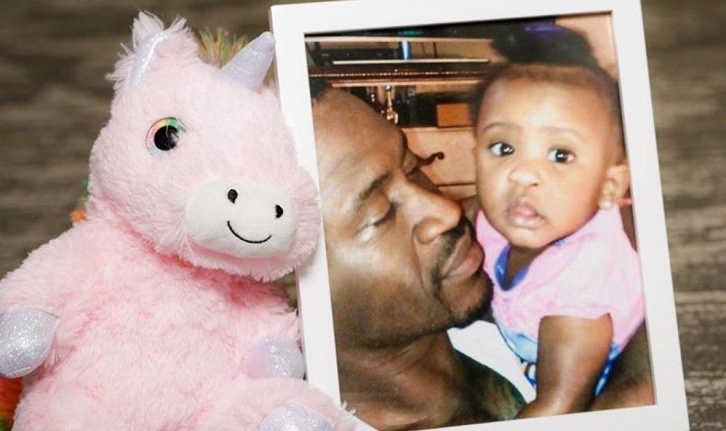 """«Χρόνια πολλά στον παράδεισο μπαμπάκα μου»: Η 6χρονη κόρη του αδικοχαμένου """"μαύρου γίγαντα"""" Gianna Floyd, εύχεται & προκαλεί παγκόσμια συγκίνηση (φωτό) - Κυρίως Φωτογραφία - Gallery - Video"""