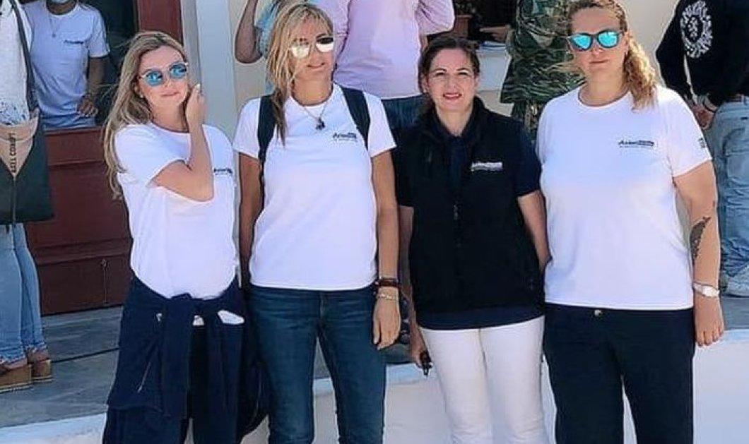 Στο Καστελόριζο βρίσκεται η Μαρέβα Μητσοτάκη: Με γιατρούς και εθελοντές κάνουν τεστ κορωνοϊού στους κατοίκους (φωτό) - Κυρίως Φωτογραφία - Gallery - Video
