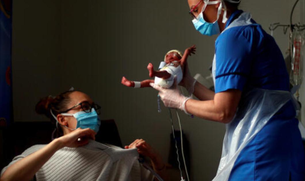 Good news: Μόλις βγήκε από μαιευτήριο ο Τίο , που γεννήθηκε 1 κιλό εν μέσω κορωνοϊού (φωτό) - Κυρίως Φωτογραφία - Gallery - Video
