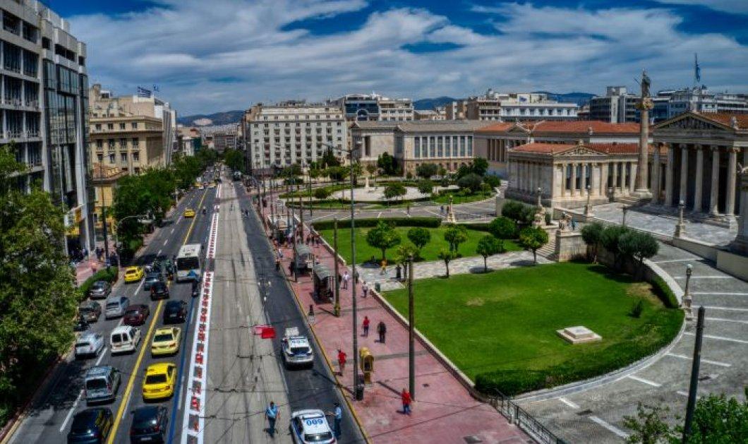 Μεγάλος Περίπατος Αθήνας: Πρεμιέρα με βόλτα στη νέα λεωφόρο Βασ. Όλγας – Ξεκίνησαν οι εργασίες στην Πανεπιστημίου - Κυρίως Φωτογραφία - Gallery - Video