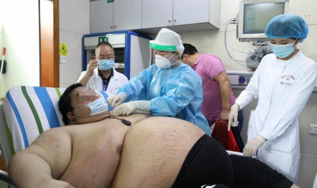 26χρονος Κινέζος πήρε 100 κιλά στους 5 μήνες της καραντίνας – Τώρα ζυγίζει 280 (φωτό) - Κυρίως Φωτογραφία - Gallery - Video