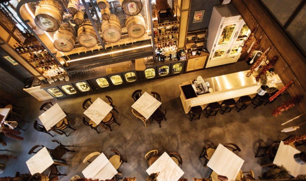 «Καφενείο» με μεζέδες από τον σεφ Αλέξανδρο Τσιοτίνη με εμπειρία από τρίαστερα - Κυρίως Φωτογραφία - Gallery - Video