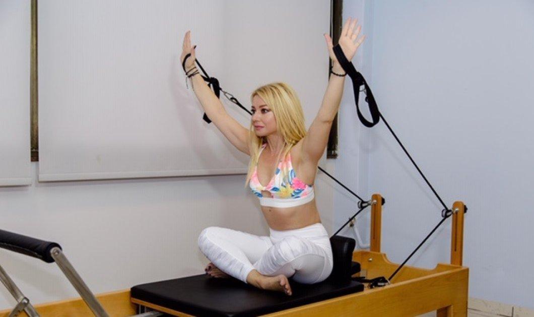 Το eirinika κάνει pilates με την Μαρία Μαραγιάννη - Σήμερα 3 ασκήσεις στο reformer - Κυρίως Φωτογραφία - Gallery - Video