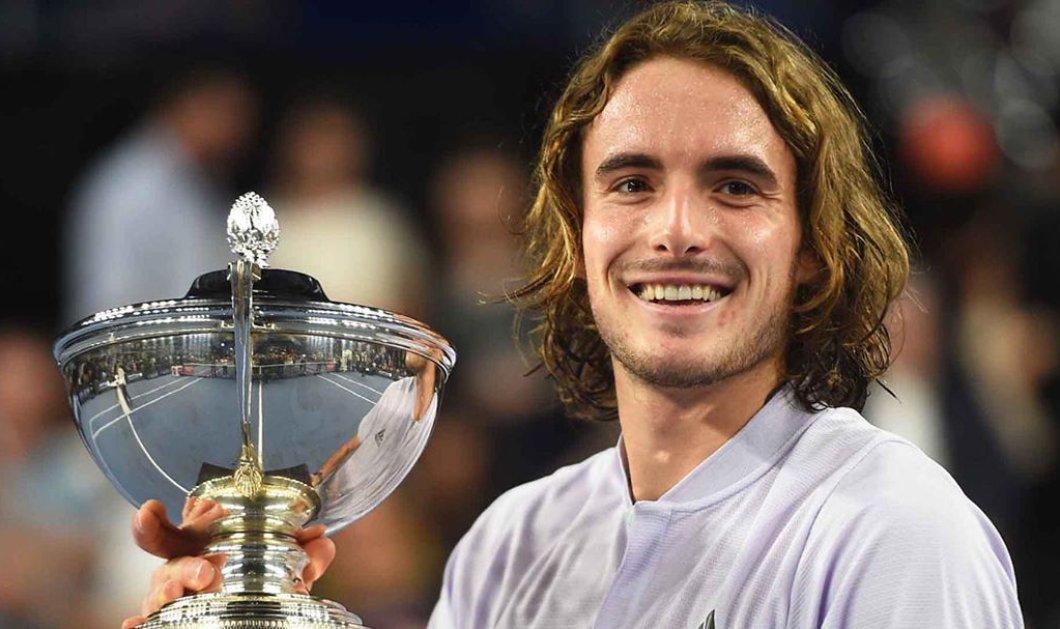 Ο Τσιτσιπάς ξαναχτυπά: Το δικό μας αστέρι του διεθνούς τένις επέστρεψε με νίκη στη δράση (φωτό - βίντεο)  - Κυρίως Φωτογραφία - Gallery - Video