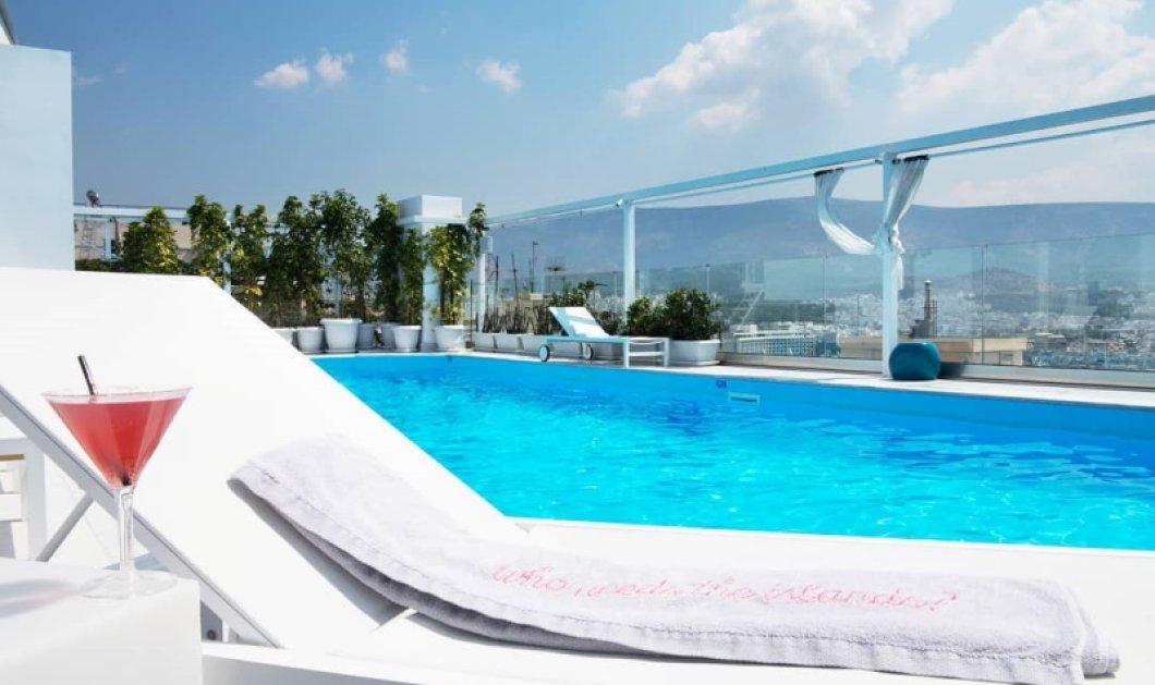 Το εμβληματικό ξενοδοχείο της Αθήνας St. George Lycabettus Hotel άνοιξε ξανά τις πόρτες του - Το πολυβραβευμένο roofgarden με την 360 θέα & η πισίνα (Φωτό) - Κυρίως Φωτογραφία - Gallery - Video