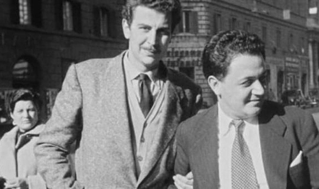 Σπάνια υπέροχη φωτογραφία δύο μεγάλων Ελλήνων: Μίκης Θεοδωράκης & Μάνος Χατζιδάκις το 1954 - Κυρίως Φωτογραφία - Gallery - Video