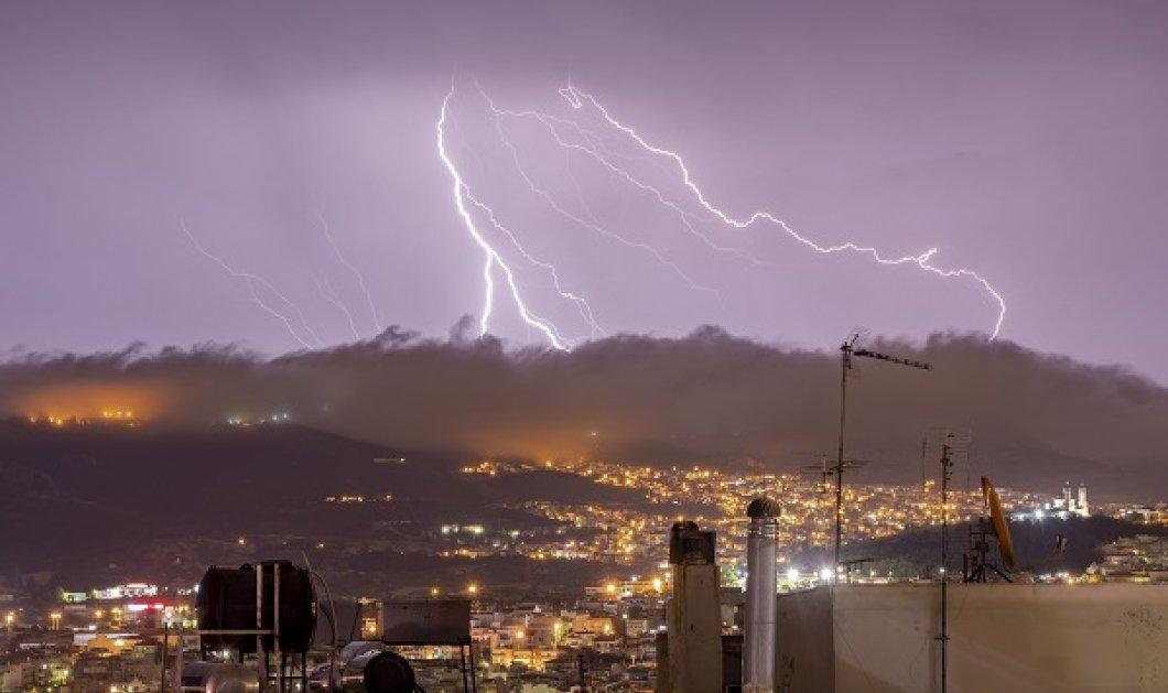 Έκτακτο δελτίο από την ΕΜΥ - Επιδείνωση του καιρού με καταιγίδες & χαλάζι μετά τον καύσωνα - Κυρίως Φωτογραφία - Gallery - Video