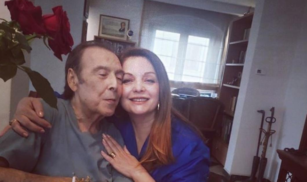 H Άντζελα Γκερέκου γιορτάζει με τον Τόλη Βοσκόπουλο τα 80α γενέθλιά του – Χρόνια πολλά αγαπημένε μας (φωτό) - Κυρίως Φωτογραφία - Gallery - Video