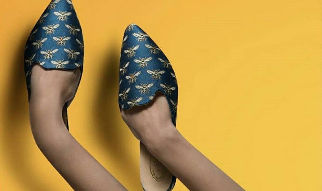 Από τα Χανιά στο Παρίσι: Η Κρητικιά σχεδιάστρια Έλλη Λυραράκη δημιουργεί παπούτσια & κοσμήματα με έμπνευση από τον μινωικό πολιτισμό (φωτό) - Κυρίως Φωτογραφία - Gallery - Video