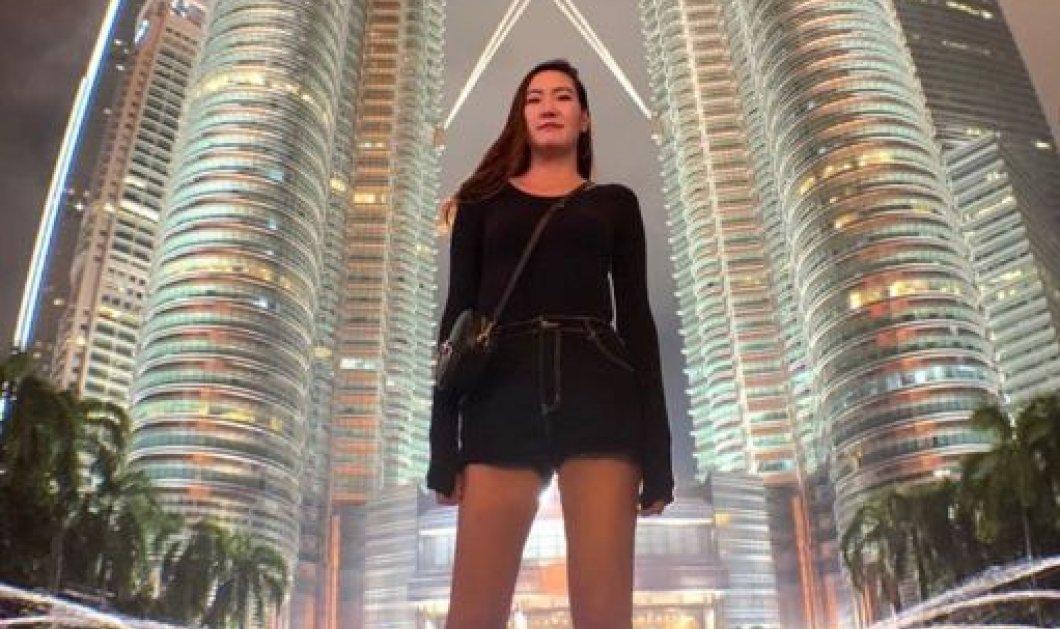 29χρονη έχει τα δεύτερα μακρύτερα πόδια στον κόσμο - Πως είναι η ζωή με 2,05 μ. ύψος; (φωτό) - Κυρίως Φωτογραφία - Gallery - Video