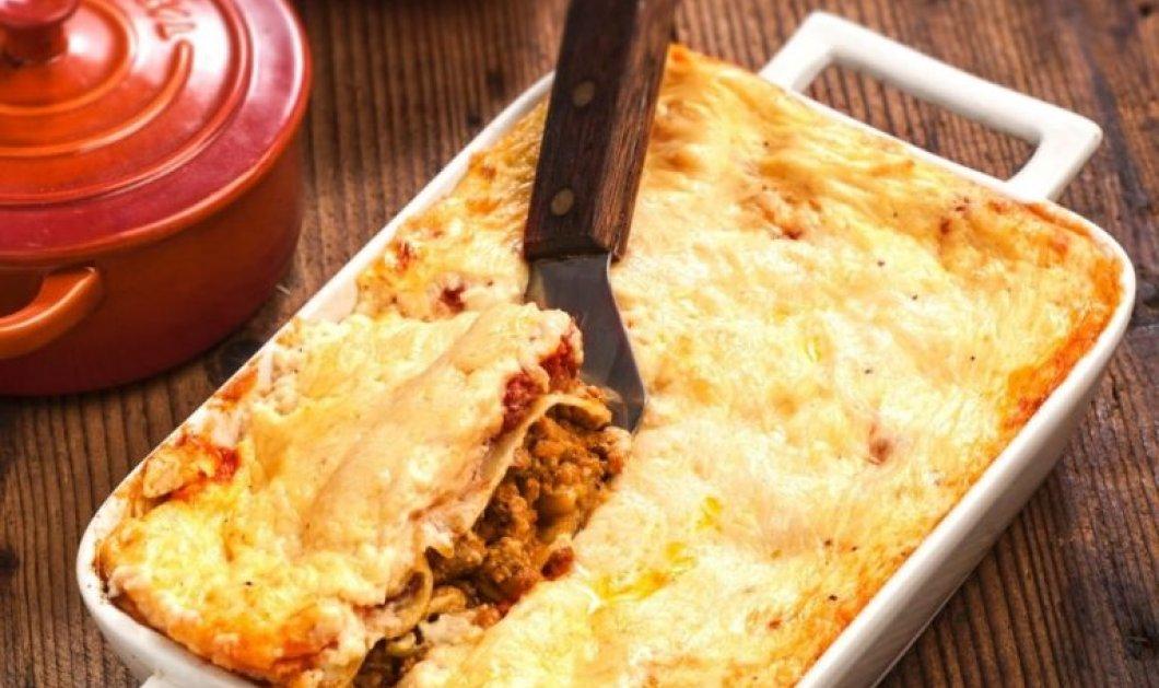 Μια πεντανόστιμη συνταγή από την Αργυρώ Μπαρμπαρίγου: Κανελόνια µε κιµά, µελιτζάνα & σάλτσα κρέμας τυριού - Κυρίως Φωτογραφία - Gallery - Video