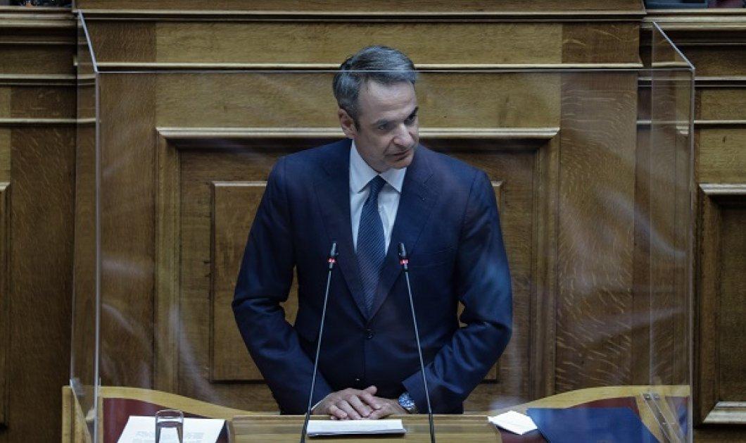 Live η συζήτηση στη Βουλή για την πανδημία του κορωνοϊού - H ομιλία του Κυριάκου Μητσοτάκη - Κυρίως Φωτογραφία - Gallery - Video