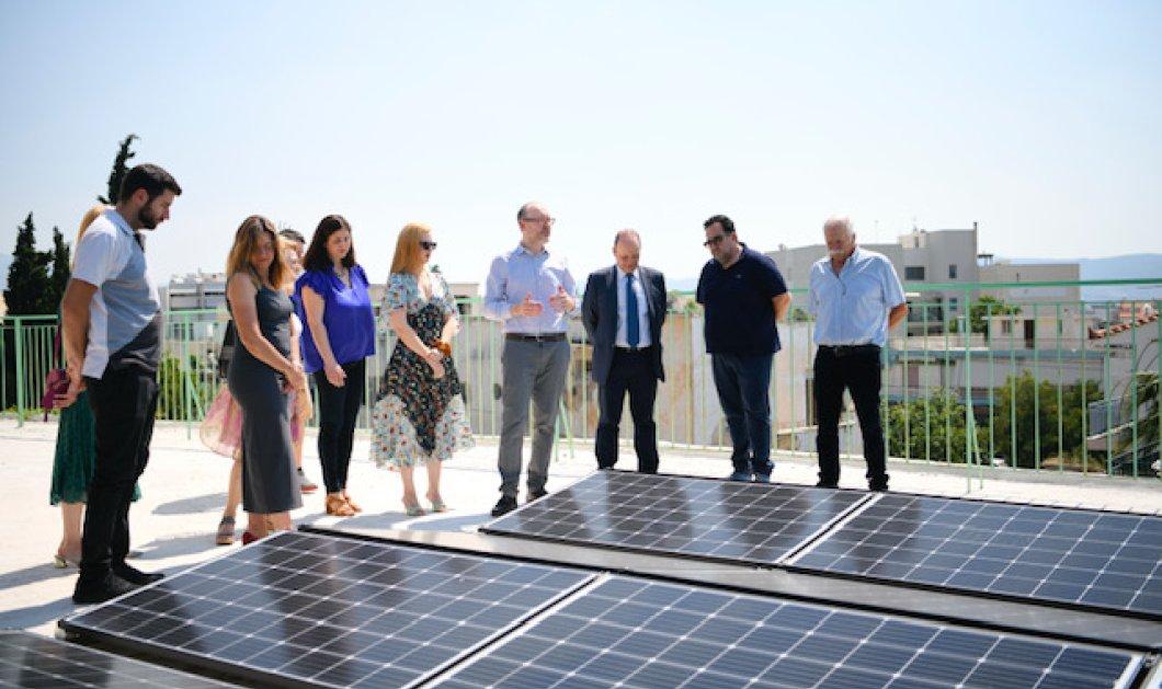 Όμιλος ΕΛΠΕ: Δωρεά σύγχρονου Φωτοβολταϊκού συστήματος στο Κέντρο Αγάπης Ελευσίνας - Κυρίως Φωτογραφία - Gallery - Video