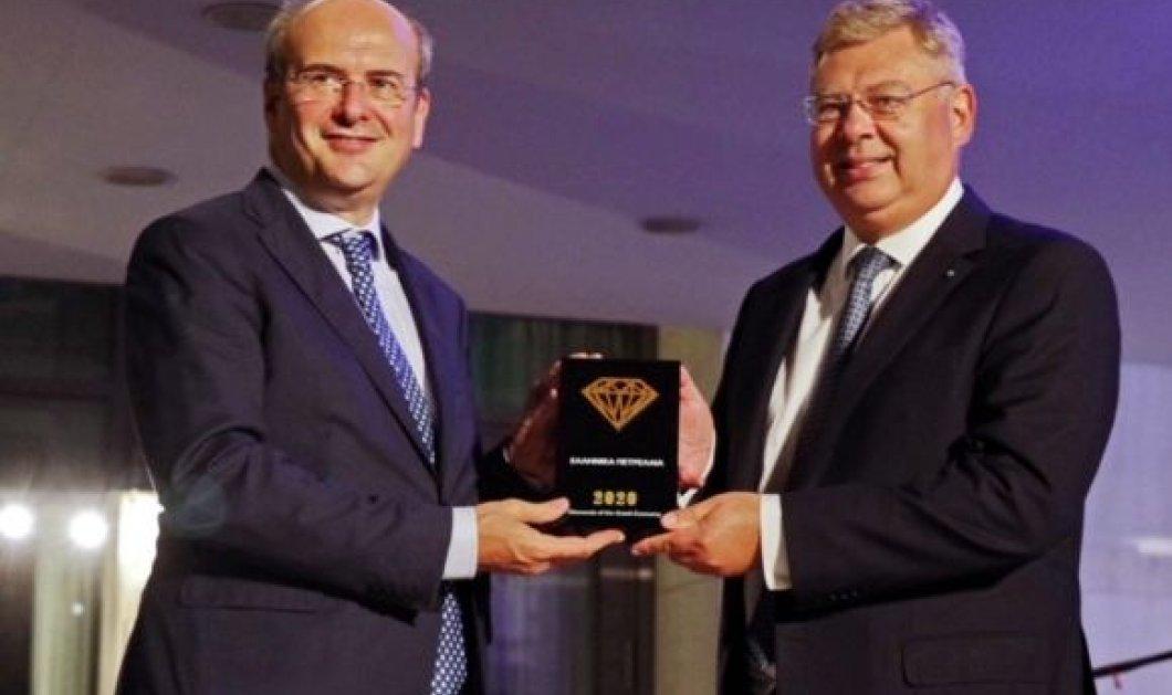 """Diamonds of the Greek Economy 2020"":  Κορυφαία Εταιρία της τελευταίας δεκαετίας στην Ελλάδα τα ΕΛΠΕ - Κυρίως Φωτογραφία - Gallery - Video"