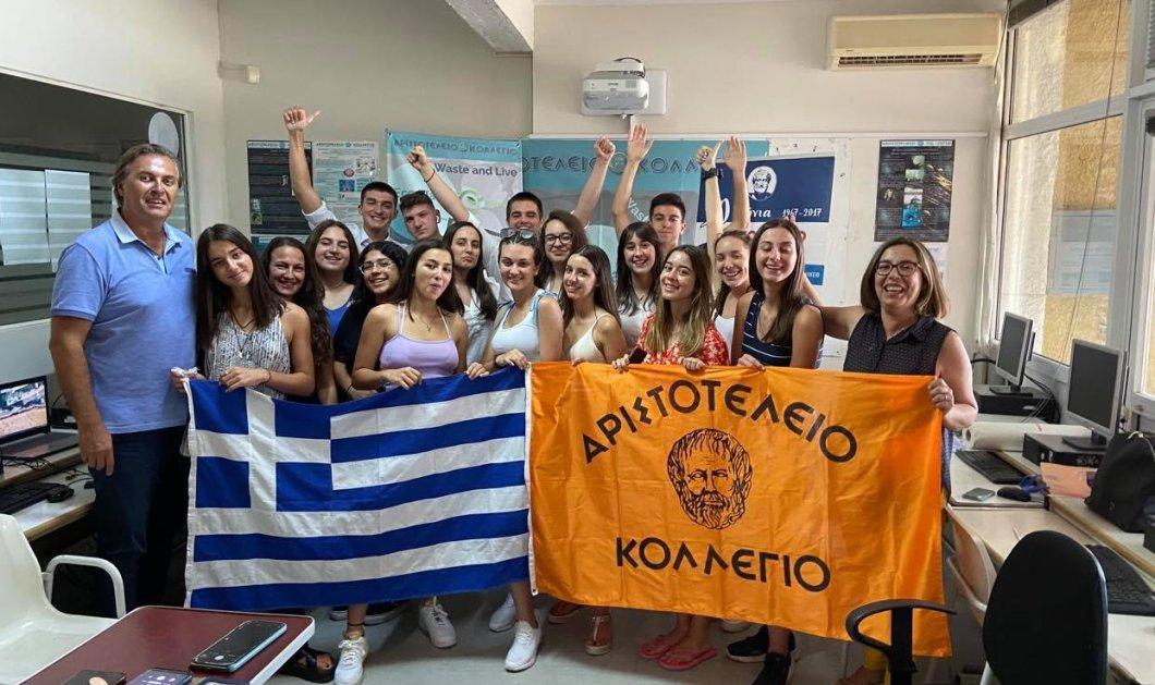Πανευρωπαϊκό Βραβείο Καινοτομίας κατέκτησε η Eλληνική Μαθητική «Start Up» ΕCOWAVE! - Κυρίως Φωτογραφία - Gallery - Video